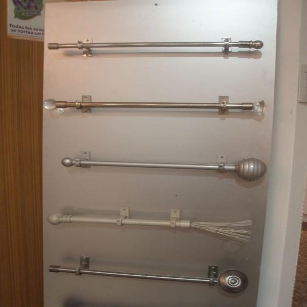 Barrales accesorios para cortinas portal de compras de for Accesorios para colgar cortinas