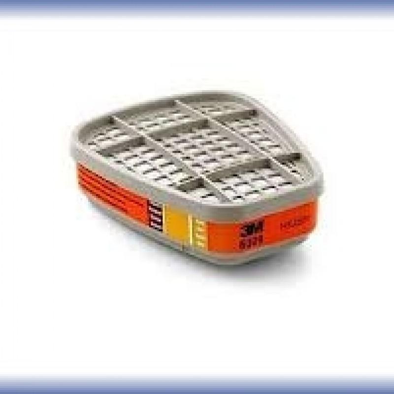cartucho filtrante 3m 6009