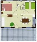 MODELO C3075, Casur Viviendas | Casa Central, venado tuerto