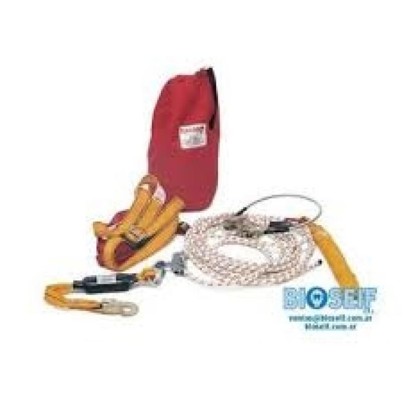 dispositivo anticaidas deslizante kit t4 caran