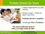 INSATISFECHO CON TUS INGRESOS?, Distribuidor Independiente Herbalife, ARIAS