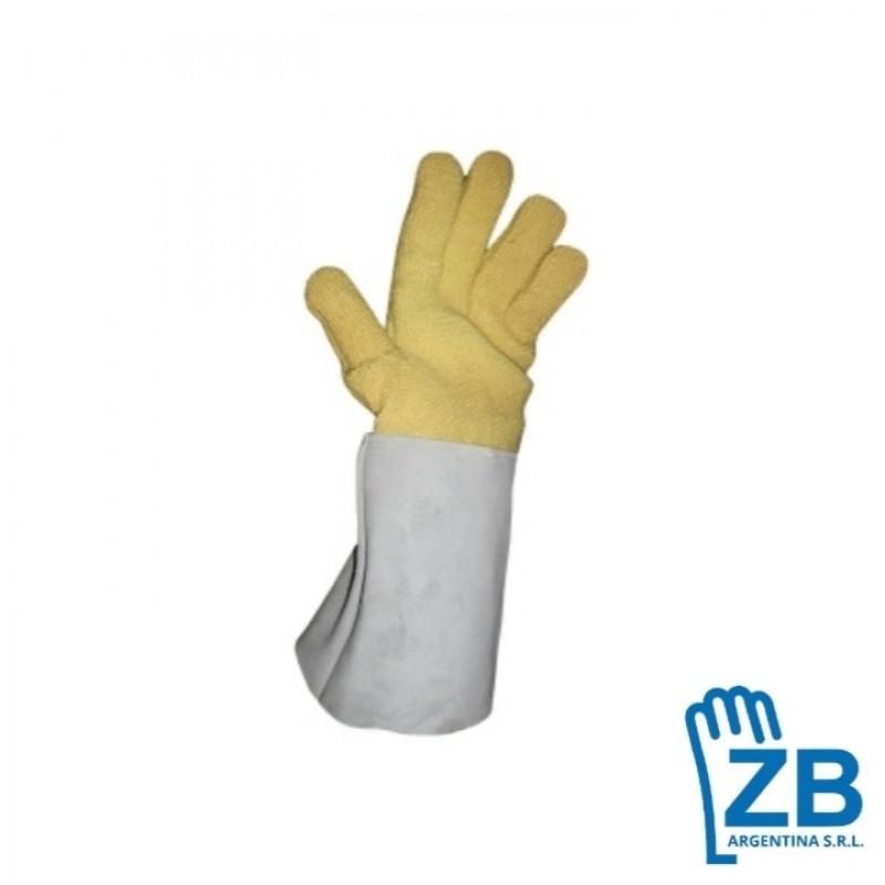 guante zb terrycloth kevlar 40 cm puno descarne