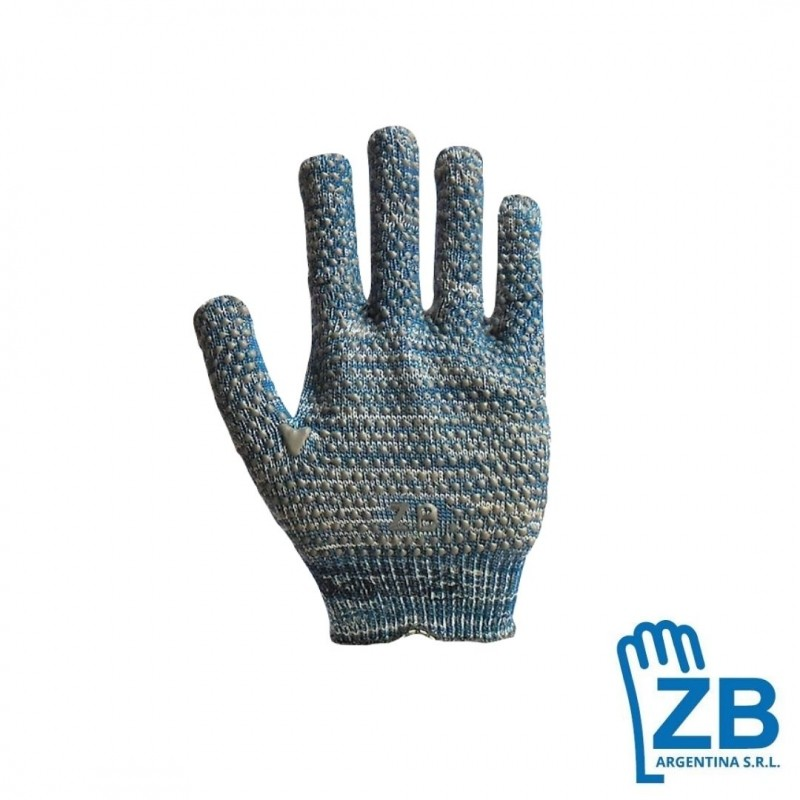 Guantes tejidos industrial ZB
