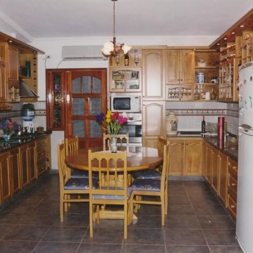 Juego de cocina antiguedades muebles antiguos otros for Juego9s de cocina
