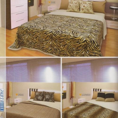 LINEA MICROFIBRA CON CORDERITO, hogar, muebles y jardin dormitorio ...