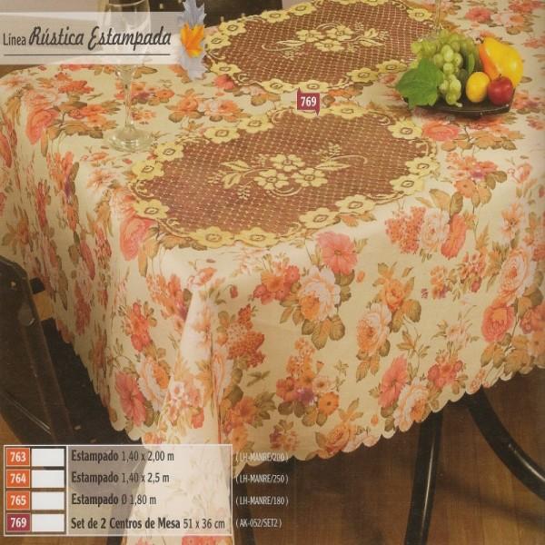Linea rustica estampada hogar muebles y jardin for Muebles y decoracion para el hogar