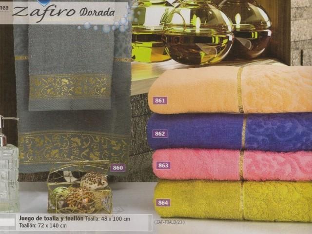 Linea zafiro dorada hogar muebles y jardin bano toallas for Compra de muebles en linea
