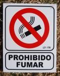 PROHIBIDO FUMAR, MATAFUEGOS AVENIDA, venado tuerto