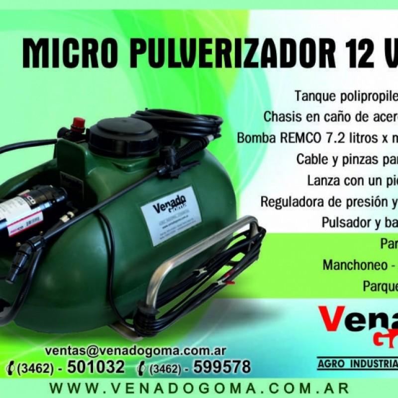 MICROPULVERIZADOR DE 60 LTS A 12V