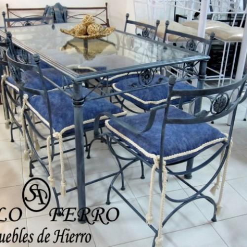 Muebles de hierro y juegos de jardin muebles de hierro for Muebles en hierro