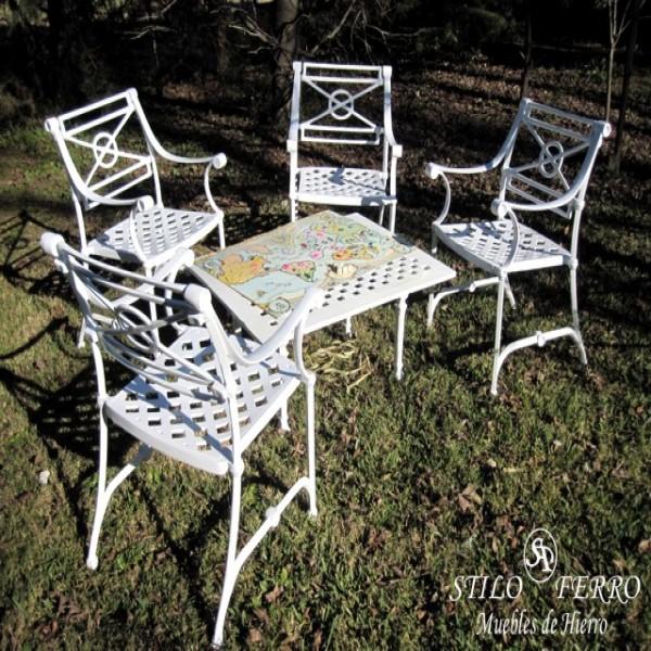 Muebles de hierro y juegos de jardin muebles de hierro portal de compras de productos en for Juegos de jardin de hierro