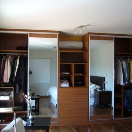 Placard con puertas corredizas con espejo placares portal de compras de productos en comercios - Puertas de espejo ...