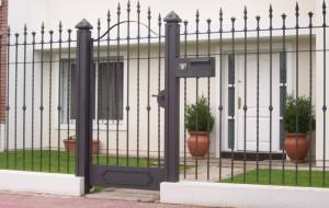 Imagen thumbnail 01 de rejas frente accesorios casa for Rejas de jardin
