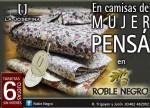 CAMISA MUJER LA JOSEFINA, Roble Negro, Venado Tuerto