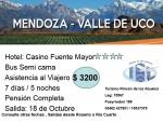 MENDOZA  Y VALLE DEL UCO, Turismo Rincon de Los Abuelos, venado tuerto