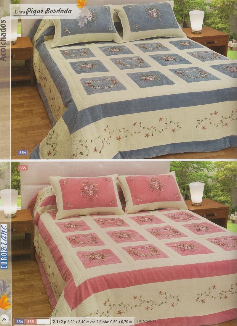 Linea pique bordada hogar muebles y jardin dormitorio for Compra de muebles en linea