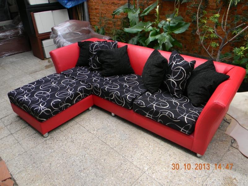 Sillon l rojo y negro portal de compras de productos en for Sillones en l baratos